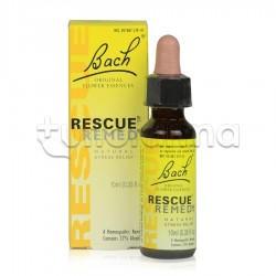 Rescue Remedy Fiori Di Bach Calmanti per Ansia Gocce Orali 10 ml
