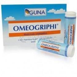 Guna Omeogriphi per Influenza e Raffreddore 1g 6 Tubi Dose