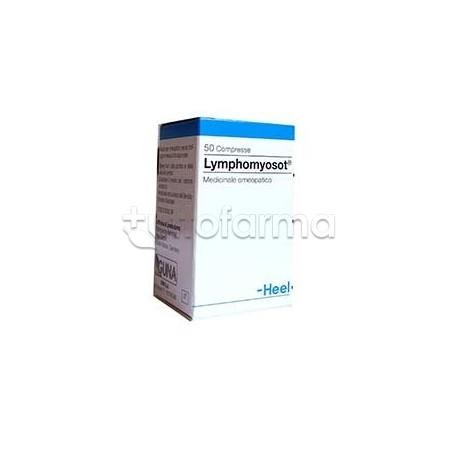 Lymphomyosot Heel Guna medicinale omeopatico contro edemi e infezioni 50 Compresse