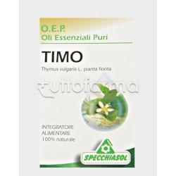Specchiasol Timo Olio Essenziale Puro 10 ml
