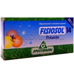 Specchiasol Fisiosol 14 Potassio Oligoelementi 20 Fiale