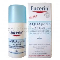 Eucerin Aquaporin Active Contorno Occhi Idratante 15 ml
