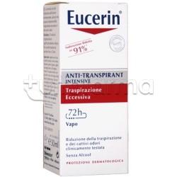 Eucerin Deodorante Anti Traspirante Vapo 30 ml