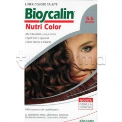 Giuliani Bioscalin Nutricolor Tinta per Capelli 5.6 Mogano