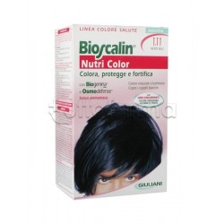 Giuliani Bioscalin Nutricolor Tinta per Capelli New 1.11 Nero Blu 150 ml