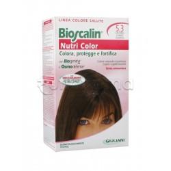 Giuliani Bioscalin Nutricolor Tinta per Capelli New 5.3 Castano Chiaro Dorato 150 ml