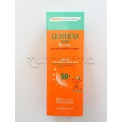 Giuliani Lichtena Bimbi Latte Solare Protezione Alta SPF 50 + 100 ml