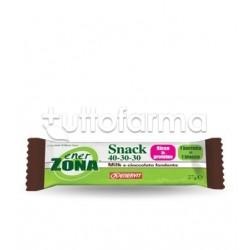 Enerzona Snack Barretta Gusto Milk e Cioccolato Fondente 27 Gr