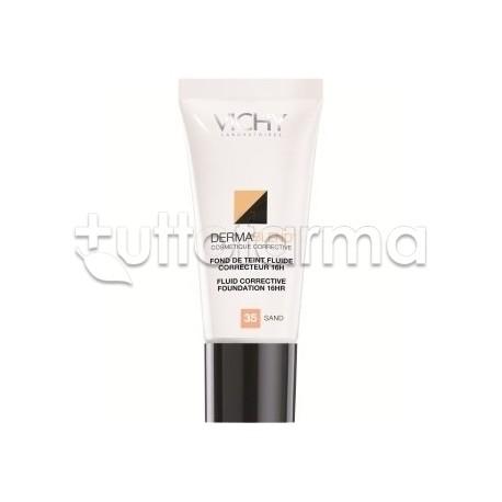 Vichy Dermablend Fondotinta Correttore 35 Sand Sabbia 30 ml