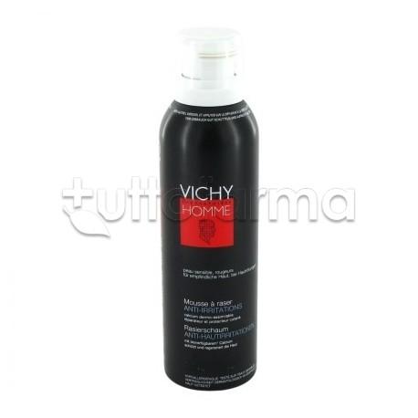 Vichy Uomo Schiuma da Barba Delicata per Pelle Sensibile 200 ml
