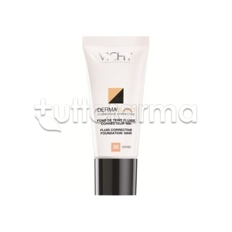 Vichy Dermablend Fondotinta Correttore 15 Opal 30 ml