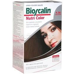 Giuliani Bioscalin Nutricolor Tinta per Capelli New 4.36 Cioccolato 150 ml