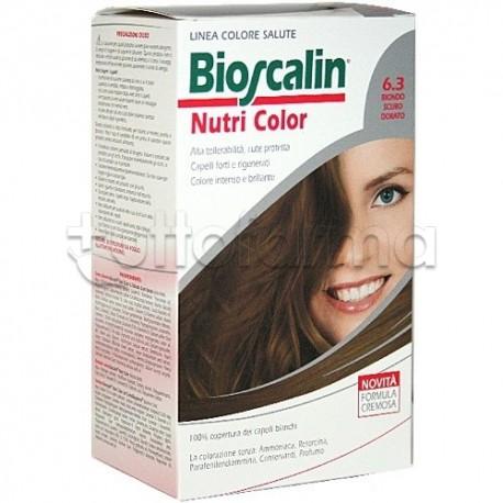 Giuliani Bioscalin Nutricolor Tinta per Capelli New 6.3 Biondo Scuro Dorato 150 ml.