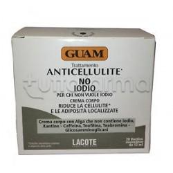 Guam Crema Corpo Senza Iodio Anticellulite 20 Bustine