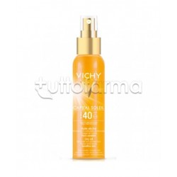 Vichy Capital Soleil Olio Solare con Protezione Alta Protezione 40 125 ml