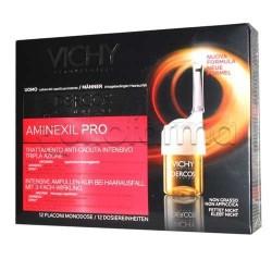 Vichy Dercos Aminexil PRO Anti-caduta Uomo 12 fiale