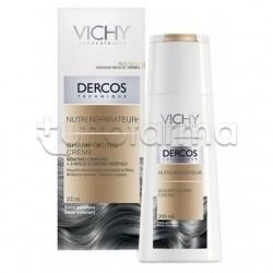 Vichy Dercos Shampoo Nutri- Riparatore Capelli Secchi e Danneggiati 200 ml