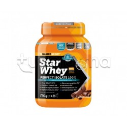 Named Sport Star Whey PERFECT ISOLATE 100% Proteine Gusto Cookies & Cream 750gr