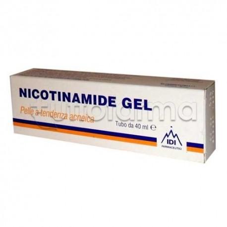 Idi Nicotinamide Gel Trattamento Anti-Acne 40 ml