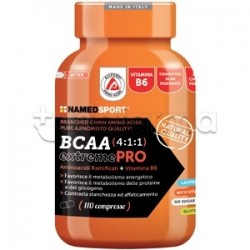 Named Sport BCAA 4:1:1 extreme PRO 110 Compresse