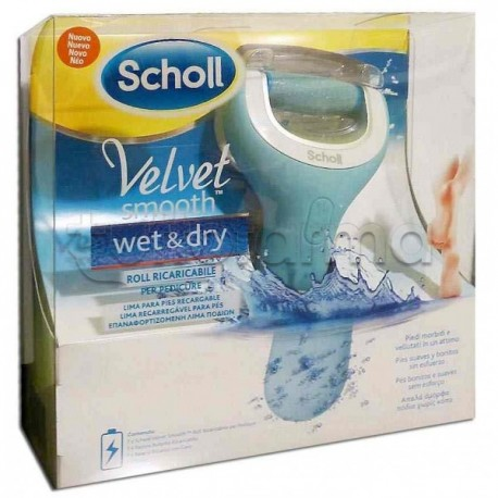 Velvet Smooth Wet and Dry Roll per Pedicure Resistente all'Acqua