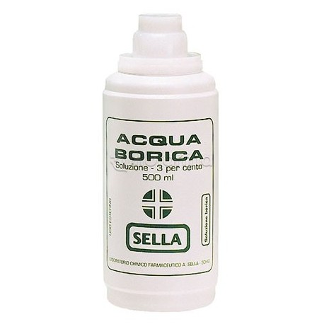 Sella Acido Borico 3% Acqua Borica 500ml