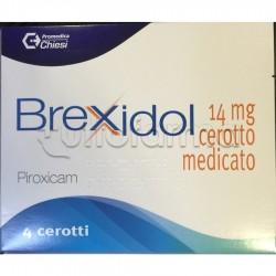 Brexidol Cerotti Antinfiammatori per Dolori 4 Cerotti 14mg