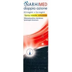 Narhimed Doppia Azione Spray Decongestionante e per Naso che Cola 10ml