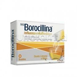 NeoBorocillina Influenza e Raffreddore 10 Bustine Effervescenti