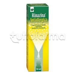 Rinazina Antiallergica Spray per Riniti Allergiche e Allergia 10ml