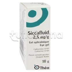 Siccafluid Gel Idratante per Occhi Secchi 10gr 2,5mg/gr
