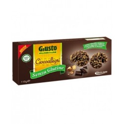Giuliani Gusto Biscotti Ciocoallegri Senza Glutine Per Celiaci 110g