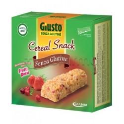 Giuliani Giusto Cereal Snack Frutti Rossi Senza Glutine Per Celiaci 6x25g