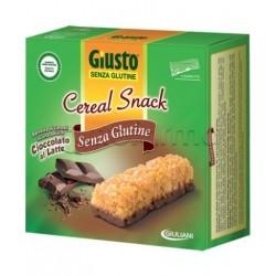 Giuliani Giusto Cereal Snack Cioccolato Latte Senza Glutine Per Celiaci 6x25g