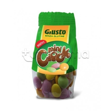 Giuliani Giusto Mini Ciock Confetti Cioccolato Senza Glutine Per Celiaci 50g