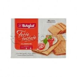 Biaglut Fette Tostate Classiche Snack Salato Senza Glutine 10 Monoporzioni da 24g