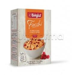 Biaglut Cereali Fiocchi di Riso e Mais con Frutti Rossi Senza Glutine 275g