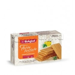 Biaglut Fette Tostate Mediterranee Snack Salato Senza Glutine 10 Monoporzioni da 24g