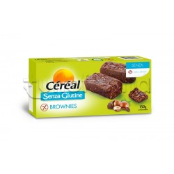 Cereal Brownies con Cioccolato e Nocciole Senza Glutine 150g