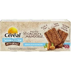 Cereal Biscotti Integrali Cacao e Mandorle Senza Glutine 150g