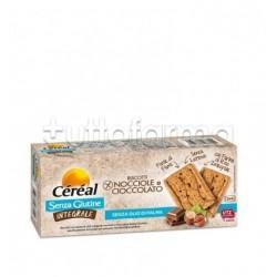 Cereal Biscotti Integrali Nocciole e Cioccolato Senza Glutine 150g