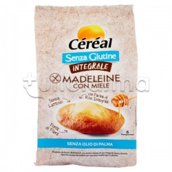 Cereal Madeleine Integrali al Miele Senza Glutine 170g