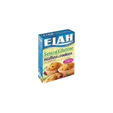 Elah Preparato per Muffin e Cookies Senza Glutine 8 Porzioni