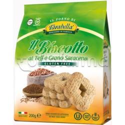 Farabella Biscotti al Teff e Grano Saraceno Senza Glutine 200g