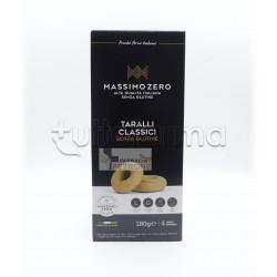 Massimo Zero Taralli Classici Senza Glutine 180g