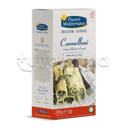 Piaceri Mediterranei Cannelloni Pasta di Mais Senza Glutine 200g