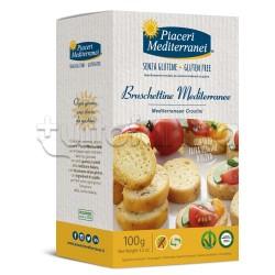 Piaceri Mediterranei Bruschettine Senza Glutine 100g