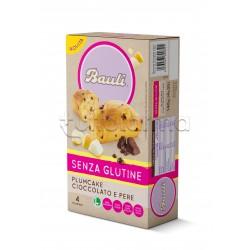 Bauli Plumcake Pere e Cioccolato Senza Glutine 4 Pezzi
