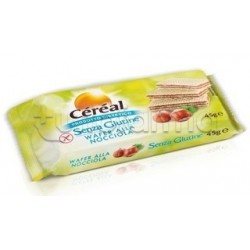 Cereal Wafer Nocciola Senza Glutine 45 Gr