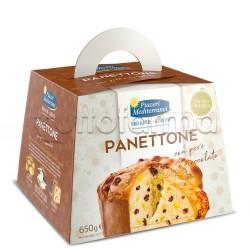 Piaceri Mediterranei Panettone Pere e Cioccolato Senza Glutine 650g